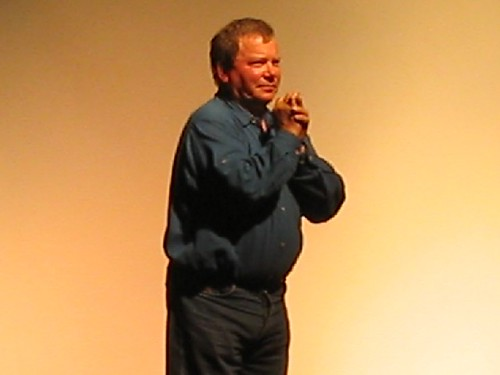 Star Trek Convention Binghamton William Shatner 2003