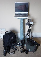 whats in my bag (dogndub) Tags: geotagged setup kit whatsinmybag