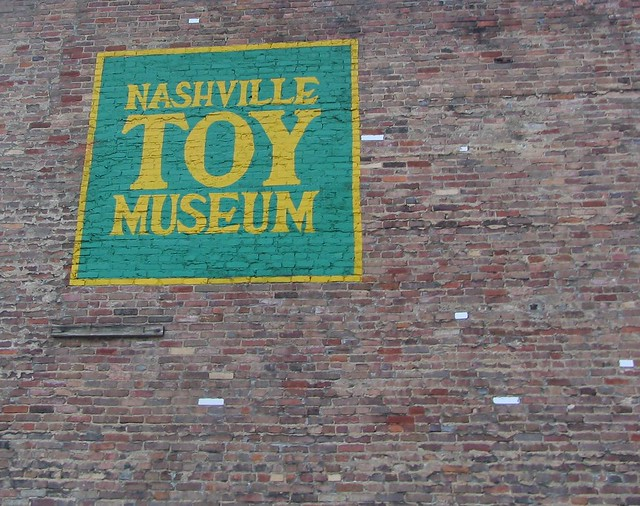 Nashville Toy Museum sign