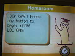 Nintendo DS Leet Speak
