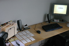Desk clean up - After (Erik Mallinson) Tags: home office desk cleaning ave after gtd vinal homelife rhodia agile gettingreal vinalave