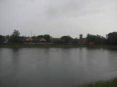 Mananchira in Rain