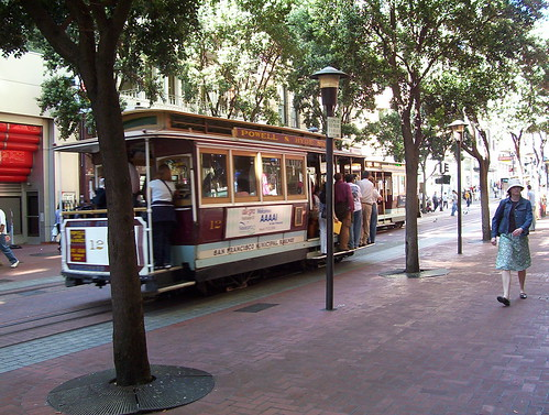 Historical Street-Supported Cable Car