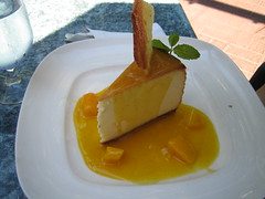 Joey Tomato's Passion Fruit Cheesecake
