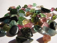 Tumbled tourmalines (jaja_1985) Tags: macro closeup rocks transparency minerals mineral transparent tourmaline tourmalines