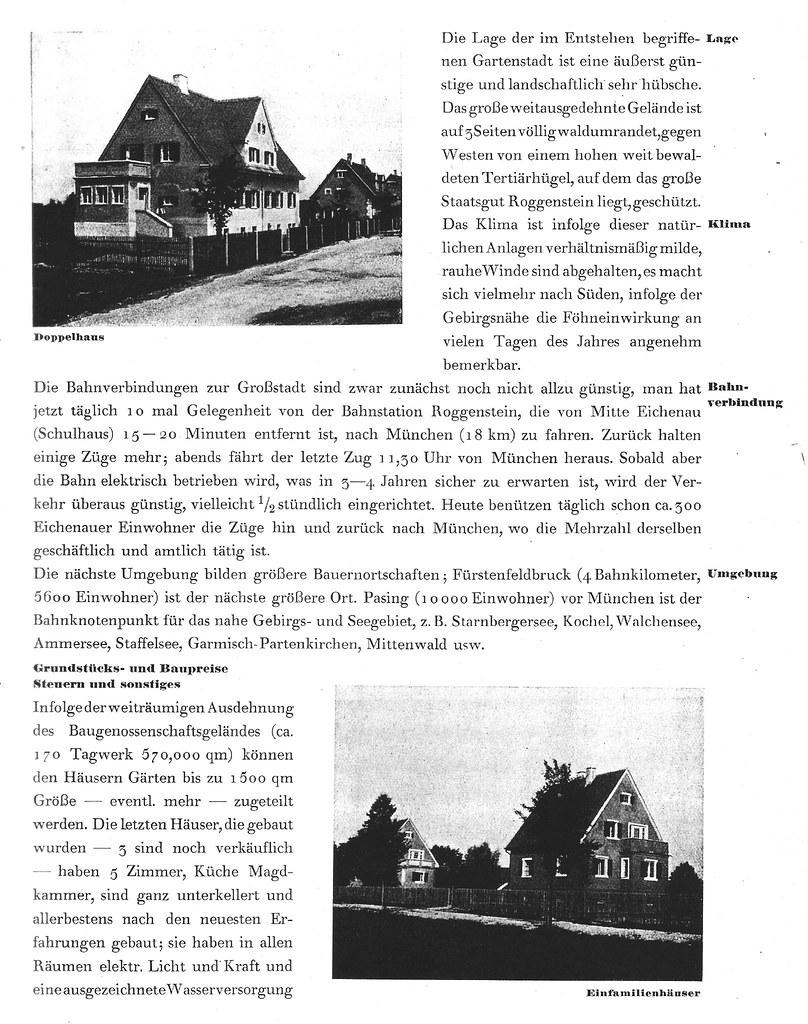 Georg Popp war der unermüdliche Organisator der Werbung für Eichenau