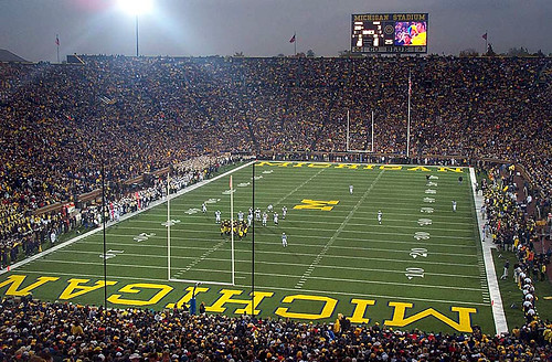 Michigan Stadium: Home of the Michigan Wolverines