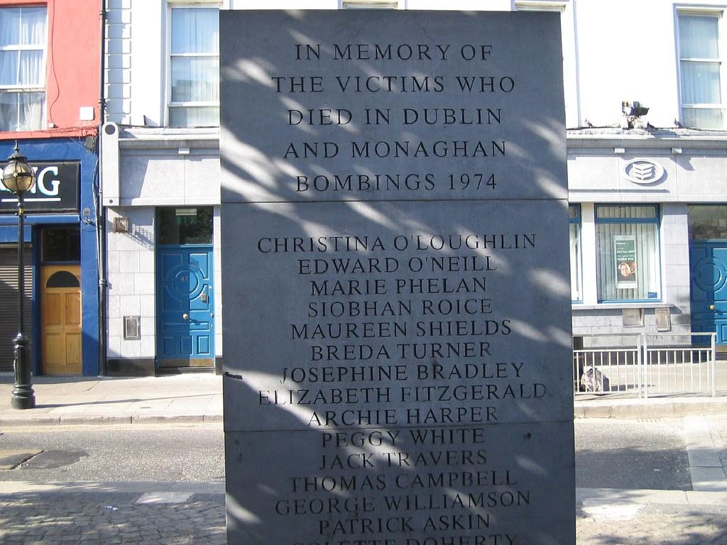 MEMORIAL: 1974 BOMB VICTIMS