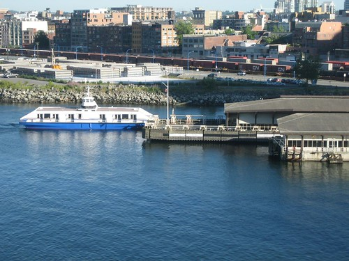 Seabus at Waterfront