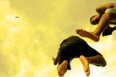 play (small wonder) Tags: beach boys topf25 yellow 350d jump sand play philippines fv10 batangas leap laluz flickrhits syke smallwonder jozexit slaphappy