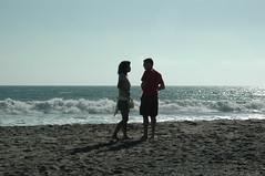 Jason and Pui on the Beach (DanSteingart) Tags: summer beachproject