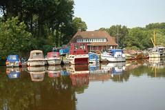 Kleiner Bootshafen (Otmar Smit) Tags: summer 2006 ostfriesland emden eastfrisia