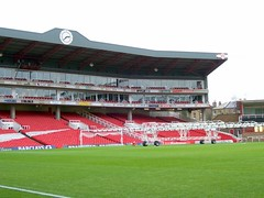 Highbury Stadium (R. Motti) Tags: uk travel london football pitch highbury arsenal motti clockend ricardomotti