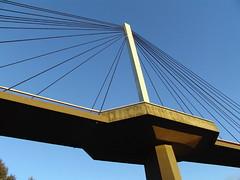 Mannheim (Nicote) Tags: bridge sky building yellow architecture gelb mannheim abigfave
