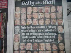Daily Mail, July 7th 2006, front page