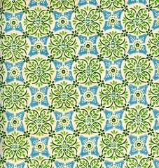 Vintage Wallpaper #2 (Katey Nicosia) Tags: wallpaper green vintage paper pattern