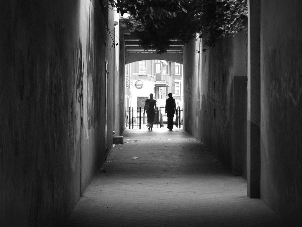 alley in Delfshaven