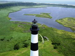 Bodie Island Lighthouse- Hatteras National Seashore, North Carolina (Jones Airfoils) Tags: lighthouse beach northcarolina kap outerbanks atlanticocean aerialphotography obx bodieisland mikejones jonesairfoils hatterasisland top20lh