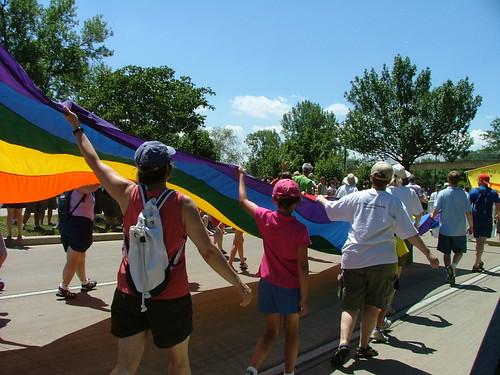 Rainbow Flag Wave