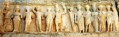 Ephesus frieze - by dachalan