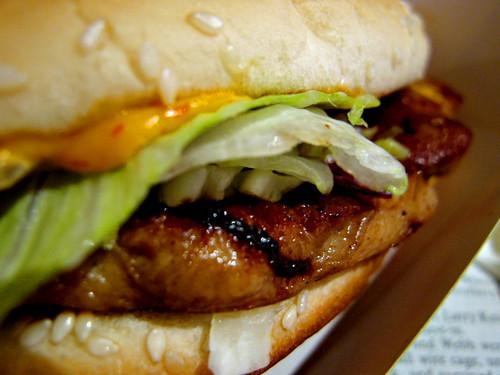 McDonalds Grilled Chicken Burger