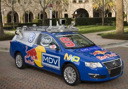 Darpa Stanford VW Passat TDI for 2007
