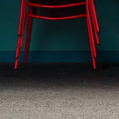 legs (dotintime) Tags: red chair legs stack sidewalk pile meganlane dotintime