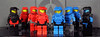 Red And Blue Orbital Armor (CloneArmyCustoms) Tags: blue 2 3 trooper gold 1 lego lock 5 metallic chief 4 helmet halo drop master armor orbital shock vs reach minifig locke visor odst