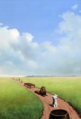 IMG_2126GF René Magritte. 1898-1967. Bruxelles.  La jeunesse illustrée. 1937. Rotterdam (jean louis mazieres) Tags: netherlands museum painting rotterdam nederland musée museo bas pays peintures peintres boijmansvanbeuningen renémagritte
