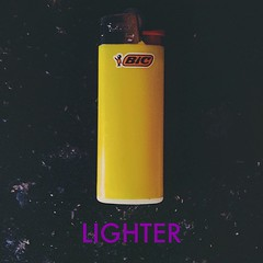 Lighter, if you didn't know. (neu-aesthetic) Tags: square word typography cool cigarette smoke text center squareformat font lighter title simple centered edit iphoneography instagramapp uploaded:by=instagram