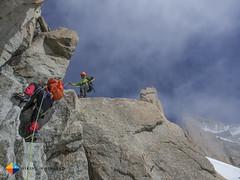 Scrambling (HendrikMorkel) Tags: mountains alps mountaineering chamonix alpineclimbing arêtedescosmiques arcteryxalpineacademy2015