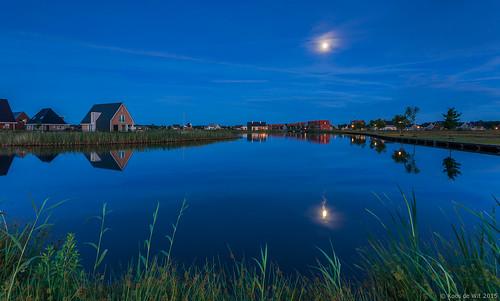 Full moon over Meerstad