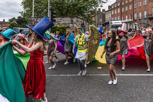 DUBLIN 2015 LGBTQ PRIDE PARADE [THE BIGGEST TO DATE] REF-105954