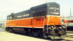 U23B (blazer8696) Tags: usa museum unitedstates connecticut 1996 railway locomotive ge drm danbury pw dn u23b t1996 199604009