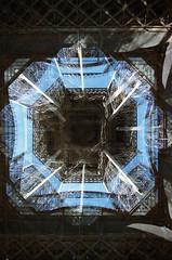(Kai M.) Tags: paris tower film analog canon de exposure tour eiffel multiple a1 2015