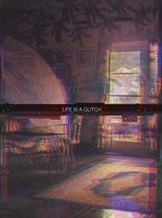 Life Is A Glitch (Buwaneka Saranga) Tags: life colors data split glitch corruption chroma distortions