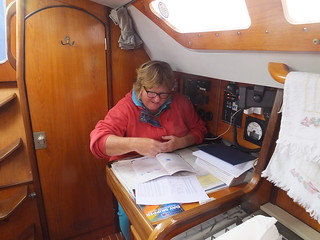 Doing my day skipper course