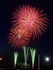Floral (H.H. Mahal Alysheba) Tags: summer festival japan night tokyo nikon firework nikkor afs shibamata d800 2485mmf3545