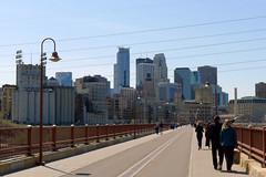 Minneapolis (Hsin-Chih Yen) Tags: minnesota downtown minneapolis stonearchbridge
