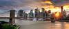 Sunset over Lower Manhattan, New York City (EyeTunes) Tags: city nyc sunset newyork skyline brooklyn cityscape manhattan tokina1224 financialdistrict southstreetseaport brooklynbridge manhattanbridge eastriver dowtown lowermanhattan woolworthbuilding brooklynbridgepark photomatix blendedexposures beekmantower nikoncapturenx nikond90