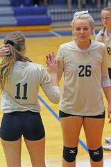 IMG_7963 (SJH Foto) Tags: girls volleyball high school york delone catholic team teen teenager substitution sub rotation
