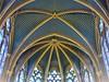 La Sainte Chapelle (Paris) (michele 69600) Tags: architecture géométrique arche symétrie plafond paris france saintechapelle gothiquerayonnant