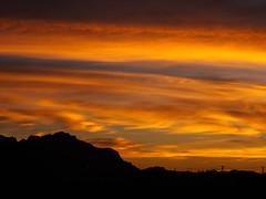 Saturated Sunrise by Superstition Mountain.jpg (melissaenderle) Tags: mountain desert sky arizona