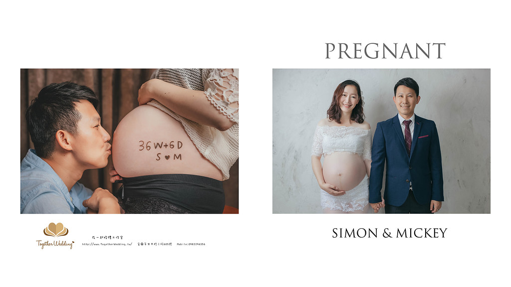 SIMON & MICKEY 孕婦寫真
