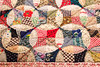 Flowering Snowball quilt (The Rustic Frog) Tags: canon eos 600d efs18135mm f3556 is flowering snowball quilt patchwork cotton stitching detail top