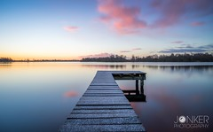 Cold morning at Paterswoldsemeer (melvinjonker) Tags: ngc natureperfection naturelovers mothernature nature landscapeperfection landscapelovers landscape skyporn sky water contrast sony longexposure colours clouds sunrise sun lakeview lake paterswoldsemeer groningen holland