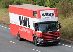 RX04FLC - White & Company (TT TRUCK PHOTOS) Tags: a303 bourton tt white company removals scania