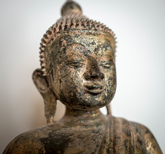 Lord Buddha (stevecarney) Tags: touching earth lord buddha whistler bc canada sculpture bust religious art symbol serene