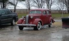 At Walt's Garage (ilgunmkr - Thanks for 5,000,000+ Views) Tags: vintagevehicle antiqueautomobile budaillinois pontiac 1936 gm 1936pontiac