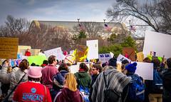 2017.01.29 Oppose Betsy DeVos Protest, Washington, DC USA 00238